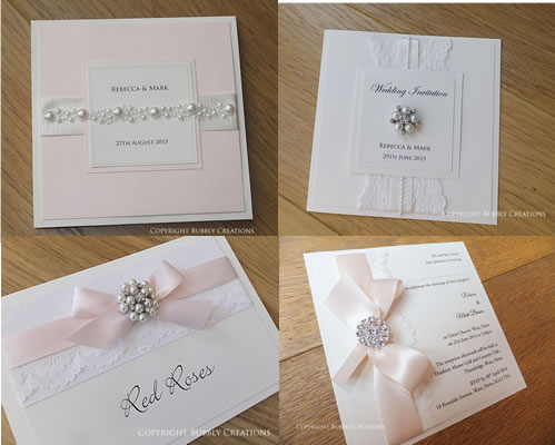 Neutral Wedding Invitations and Stationery