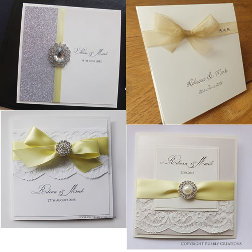 yellow, lemon, gold wedding invitations and stationery